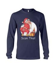 Santa Butt Scan This Shirt Long Sleeve Tee thumbnail