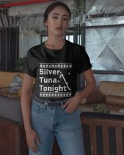 Ugly Christmas Silver Tuna Tonight Shirt Classic T-Shirt apparel-classic-tshirt-lifestyle-05