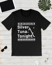 Ugly Christmas Silver Tuna Tonight Shirt Classic T-Shirt lifestyle-mens-crewneck-front-17