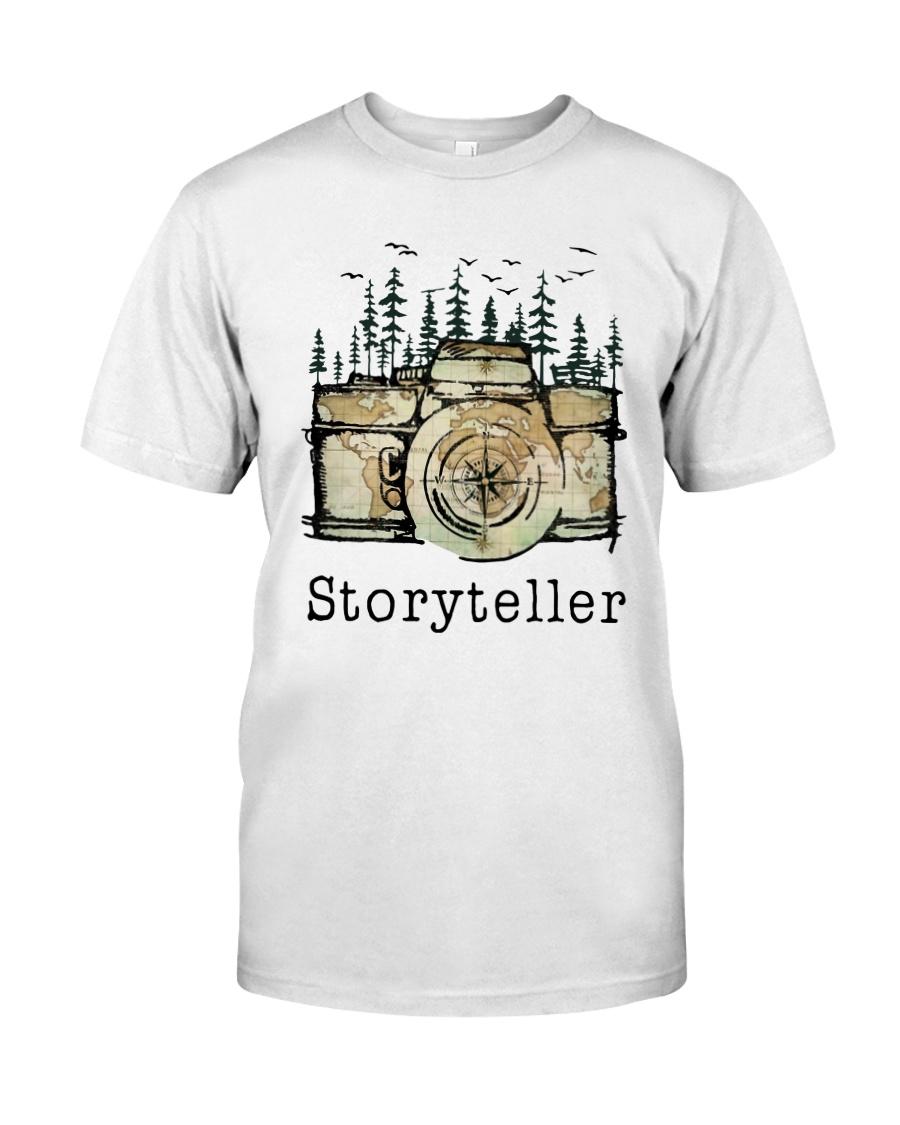 Camera Storyteller Shirt Classic T-Shirt