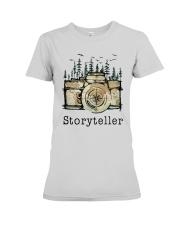Camera Storyteller Shirt Premium Fit Ladies Tee thumbnail