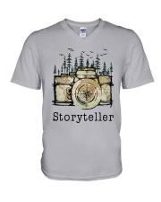 Camera Storyteller Shirt V-Neck T-Shirt thumbnail