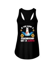 If You Want A Stable Friendship Get A Llama Shirt Ladies Flowy Tank thumbnail