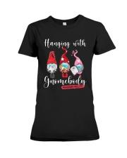 Hanging With Gnomebody Quanratinelife Shirt Premium Fit Ladies Tee thumbnail