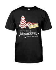 Christmas It's The Most Wonderful Time Shirt Classic T-Shirt front