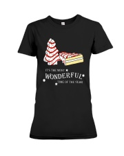 Christmas It's The Most Wonderful Time Shirt Premium Fit Ladies Tee thumbnail