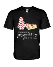 Christmas It's The Most Wonderful Time Shirt V-Neck T-Shirt thumbnail