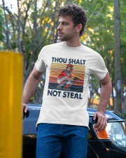 Vintage Thou Shalt Not Steal Shirt Classic T-Shirt apparel-classic-tshirt-lifestyle-front-44