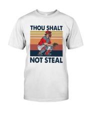 Vintage Thou Shalt Not Steal Shirt Classic T-Shirt front