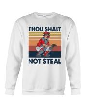 Vintage Thou Shalt Not Steal Shirt Crewneck Sweatshirt thumbnail