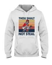 Vintage Thou Shalt Not Steal Shirt Hooded Sweatshirt thumbnail