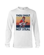 Vintage Thou Shalt Not Steal Shirt Long Sleeve Tee thumbnail