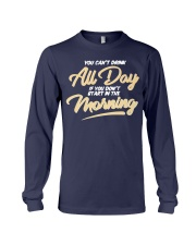 Can T Drink All Day Barstool Shirt Long Sleeve Tee thumbnail