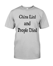 China Lied And People Died Shirt Classic T-Shirt tile
