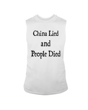 China Lied And People Died Shirt Sleeveless Tee thumbnail
