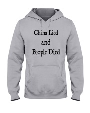 China Lied And People Died Shirt Hooded Sweatshirt thumbnail