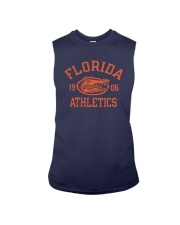 Blue Shirt In Football Sleeveless Tee thumbnail