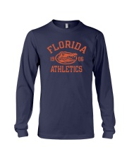 Blue Shirt In Football Long Sleeve Tee thumbnail