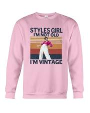 Harry Styles Girl Im Not Old Im Vintage Shirt Crewneck Sweatshirt thumbnail