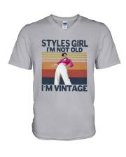 Harry Styles Girl Im Not Old Im Vintage Shirt V-Neck T-Shirt thumbnail