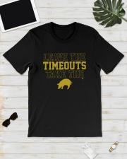 Pig Leave The Timeouts Take The Shirt Classic T-Shirt lifestyle-mens-crewneck-front-17