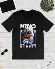 Bulldog King Of The Street Shirt Classic T-Shirt lifestyle-mens-crewneck-front-17