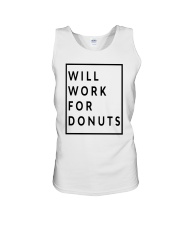 Jeb Bush Will Work For Donuts Shirt Unisex Tank thumbnail