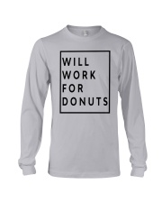 Jeb Bush Will Work For Donuts Shirt Long Sleeve Tee tile