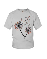 Dandelion Flower Horror Characters Shirt Youth T-Shirt thumbnail