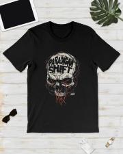Jon Moxley Skull Paradigm Shift Shirt Classic T-Shirt lifestyle-mens-crewneck-front-17