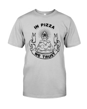 In Pizza We Trust Shirt Target Classic T-Shirt tile