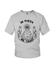 In Pizza We Trust Shirt Target Youth T-Shirt thumbnail