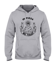 In Pizza We Trust Shirt Target Hooded Sweatshirt thumbnail
