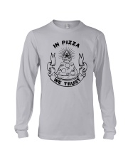 In Pizza We Trust Shirt Target Long Sleeve Tee thumbnail
