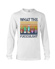 Vintage What The Fucculent Shirt Long Sleeve Tee thumbnail