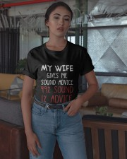 My Wife Gives Me Sound Advice 99 Sound Shirt Classic T-Shirt apparel-classic-tshirt-lifestyle-05
