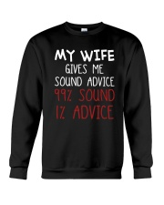 My Wife Gives Me Sound Advice 99 Sound Shirt Crewneck Sweatshirt thumbnail