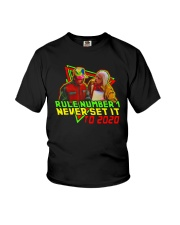 Rule Number 1 Never Set It To 2020 Shirt Youth T-Shirt thumbnail