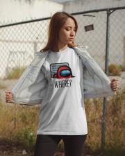 Among Us Where Shirt Classic T-Shirt apparel-classic-tshirt-lifestyle-07