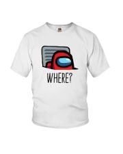 Among Us Where Shirt Youth T-Shirt thumbnail