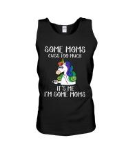 Unicorn Some Moms Cuss Too Much It's Me Shirt Unisex Tank thumbnail