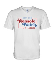 Next Gen Console Watch 2020 Shirt V-Neck T-Shirt thumbnail