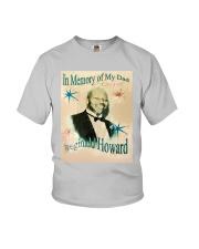 In Memory Of My Dad Reginald Howard Shirt Youth T-Shirt thumbnail
