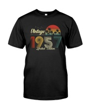 Vintage 1957 Limited Edition Shirt Classic T-Shirt front