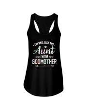 Floral I'm Not Just The Aunt I'm Godmother Shirt Ladies Flowy Tank thumbnail