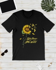 Sunflower She Keeps Me Wild Shirt Classic T-Shirt lifestyle-mens-crewneck-front-17