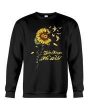 Sunflower She Keeps Me Wild Shirt Crewneck Sweatshirt thumbnail