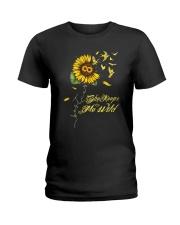 Sunflower She Keeps Me Wild Shirt Ladies T-Shirt thumbnail