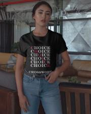 T Shirt Choice Crossword Classic T-Shirt apparel-classic-tshirt-lifestyle-05
