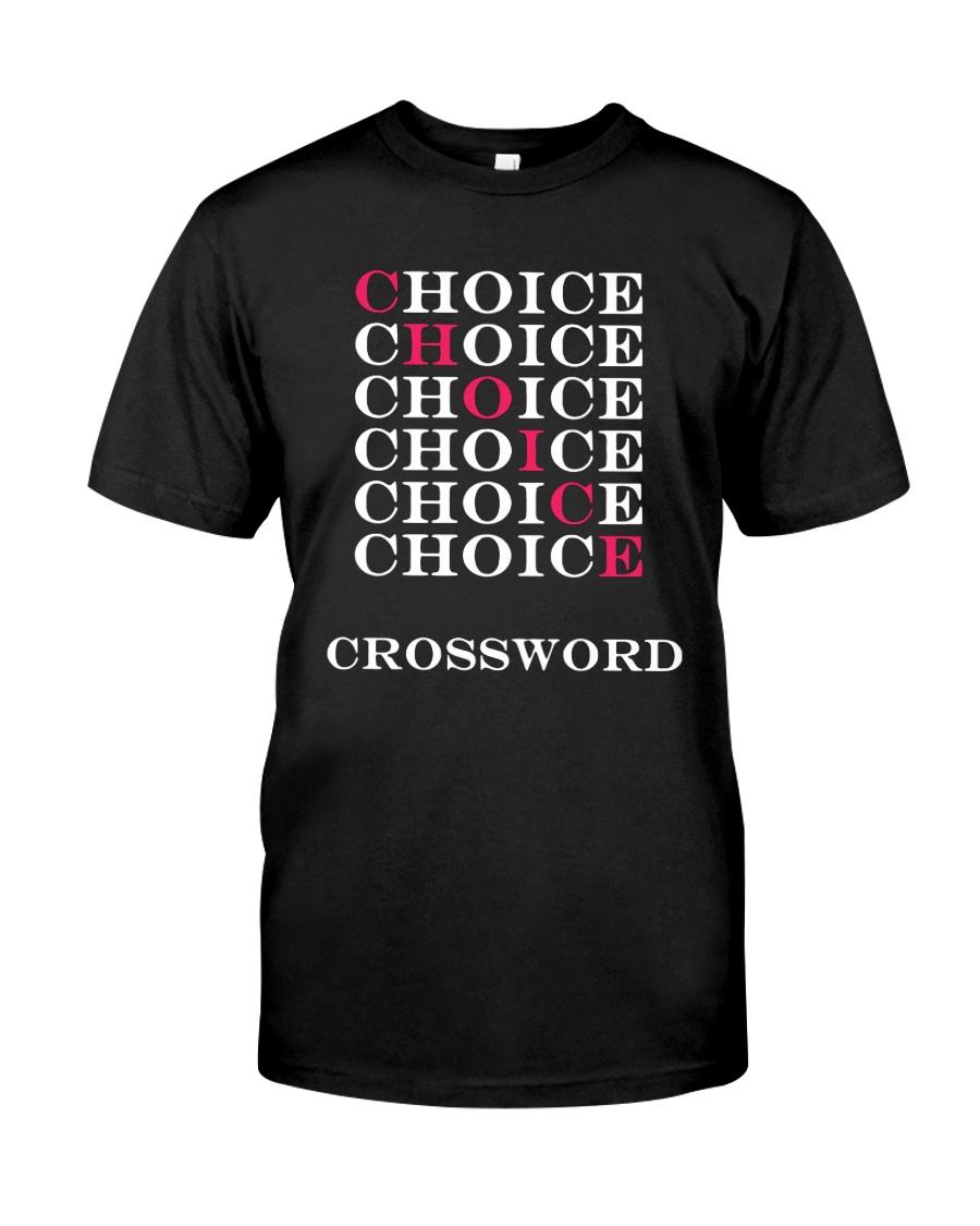 T Shirt Choice Crossword Classic T-Shirt